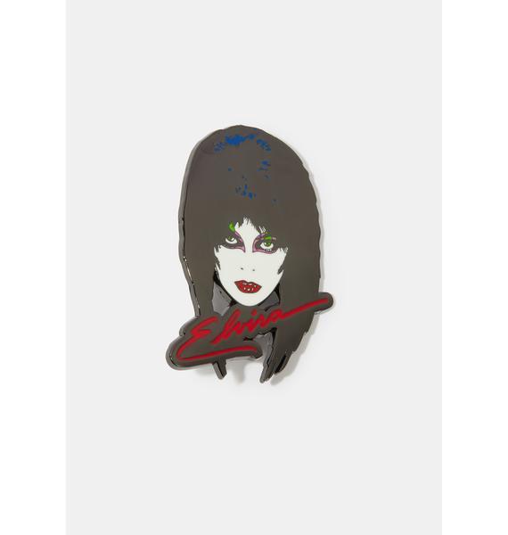 Kreepsville 666 Elvira 80's Enamel Pin