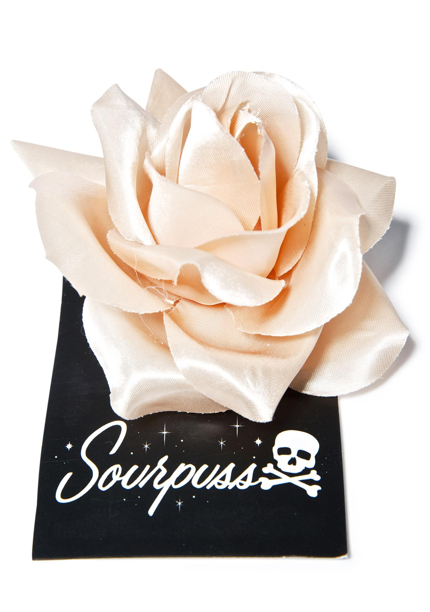 Sourpuss Clothing Rose Hair Clip
