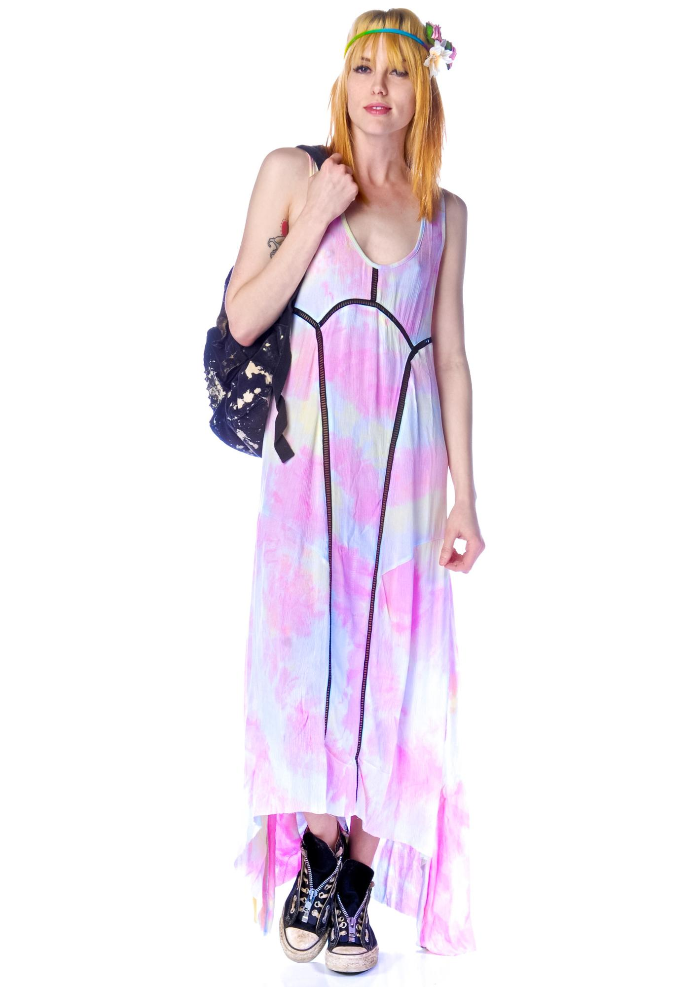 One Teaspoon Dirty Cash Sorbet Dress