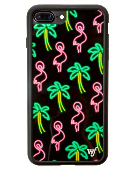 Miami Flamingo iPhone Case