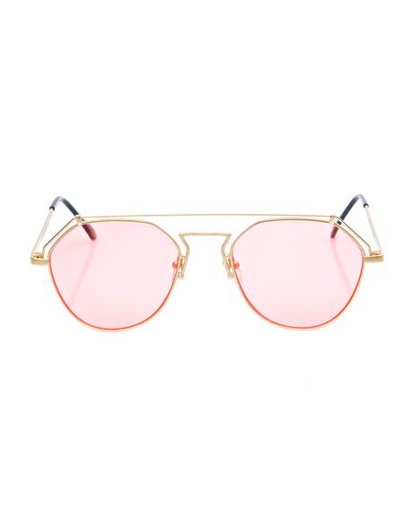 Rose Stephanie Matte Sunglasses