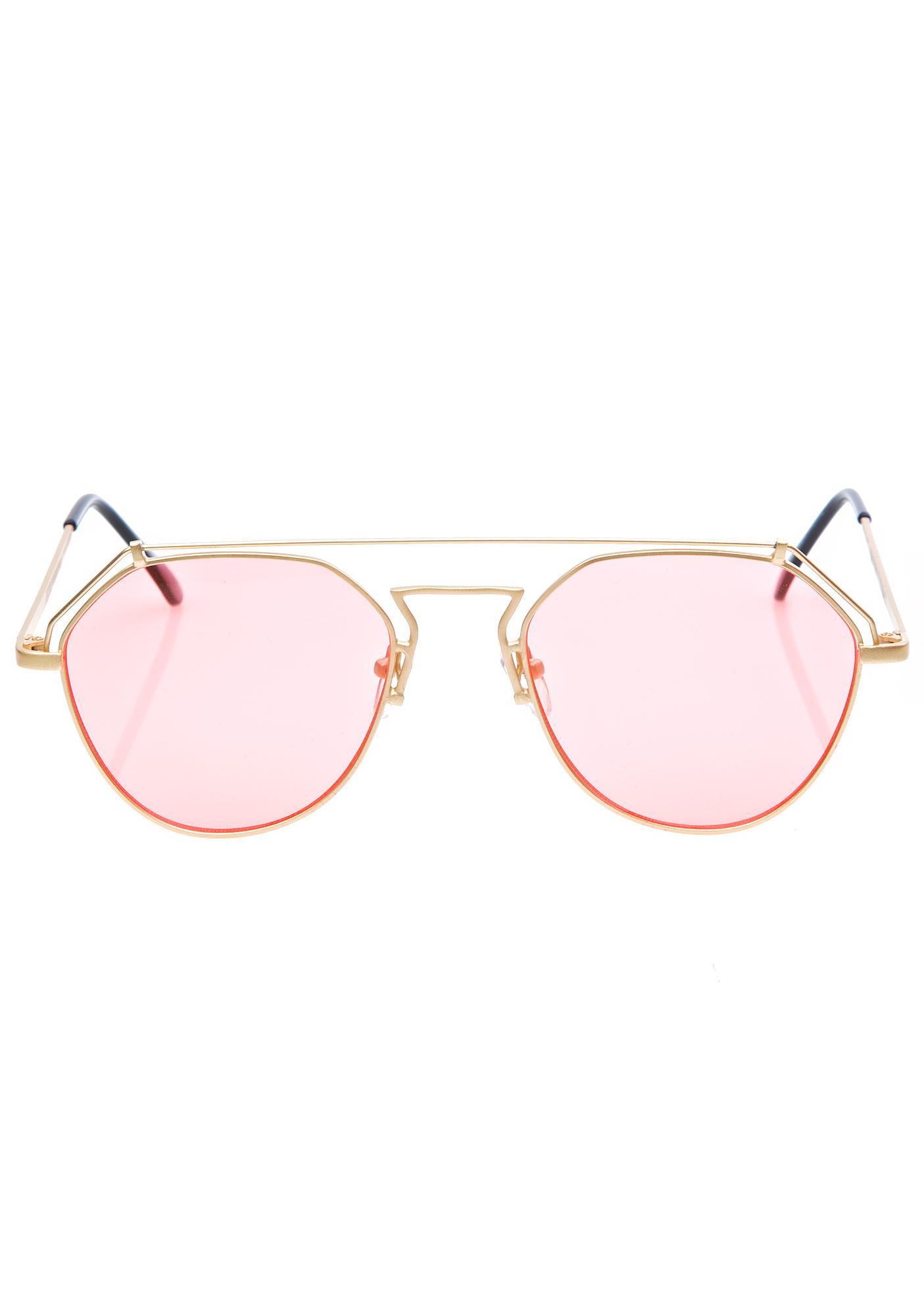YHF Rose Stephanie Matte Sunglasses