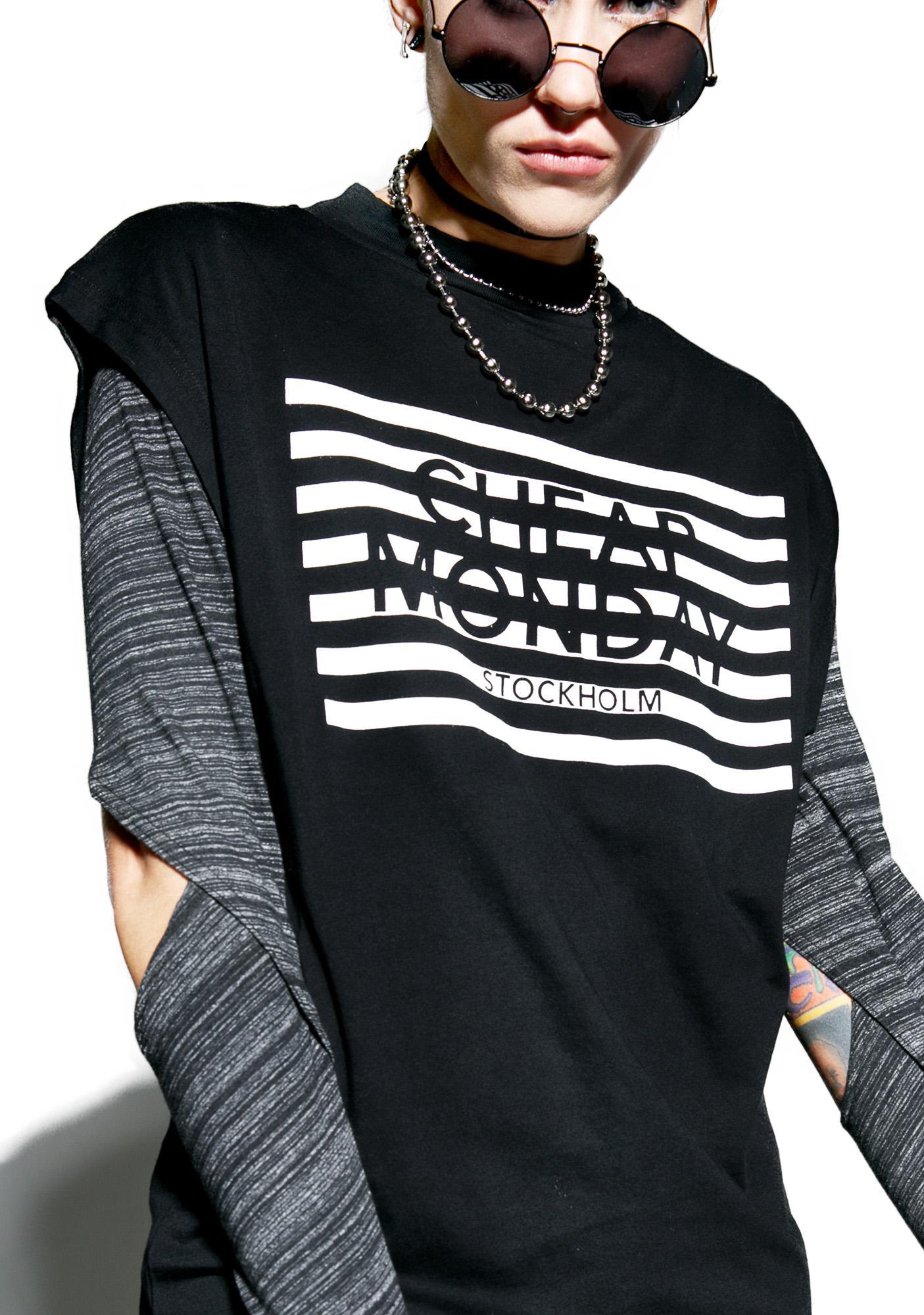 Cheap Monday Stripe Logo Capsule Dress