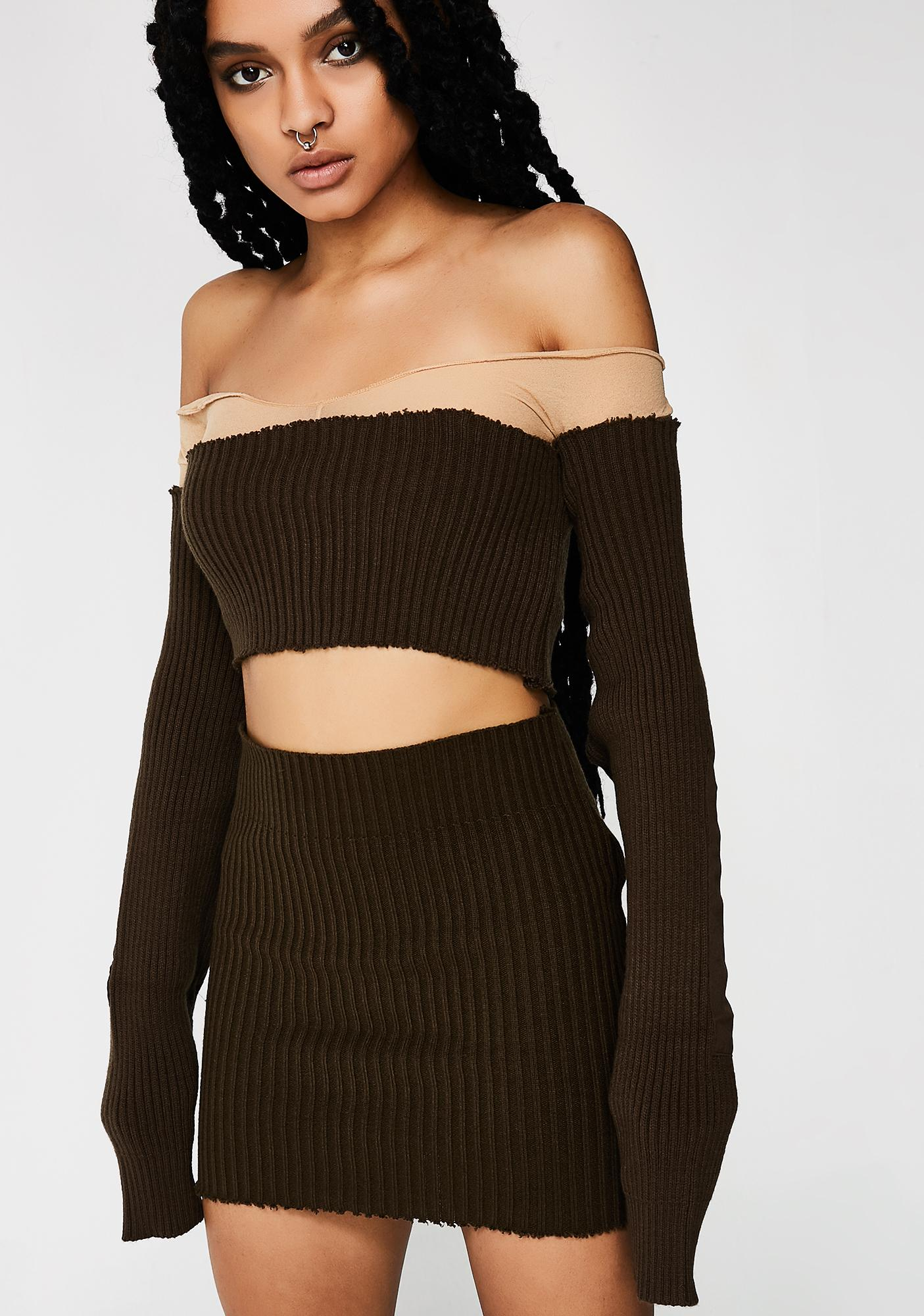 79c98be19eb0b5 ... Plugged NYC Shoulderless Crop Top ...