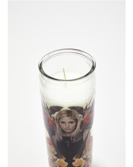 Buffy Altar Candle