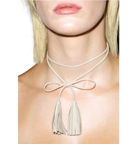 Wrangler Tassel Necklace