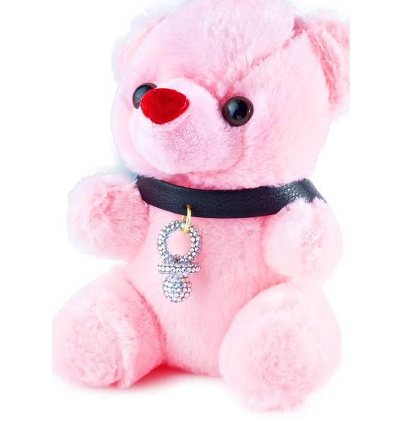 The Candy Kids Signature Swarovski Binky Choker