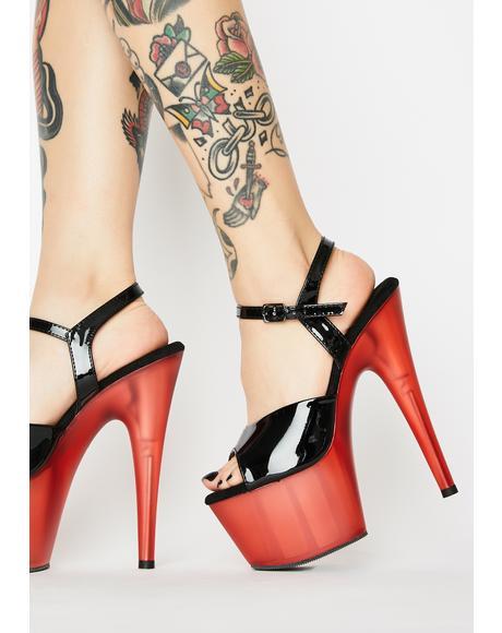 Vampy Kat Stacks Adore Platform Heels