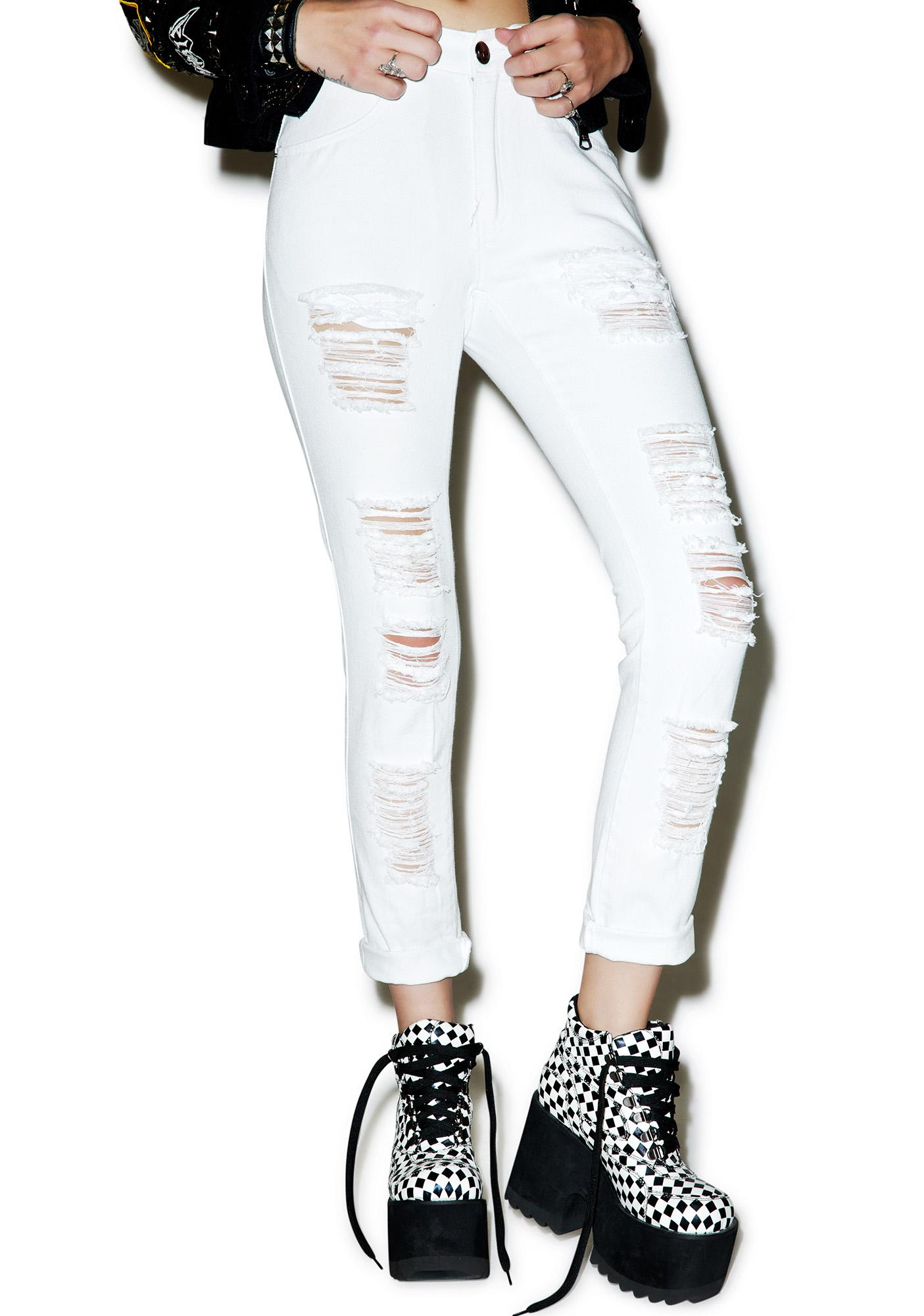 Disturbia Heaven Distressed Jeans