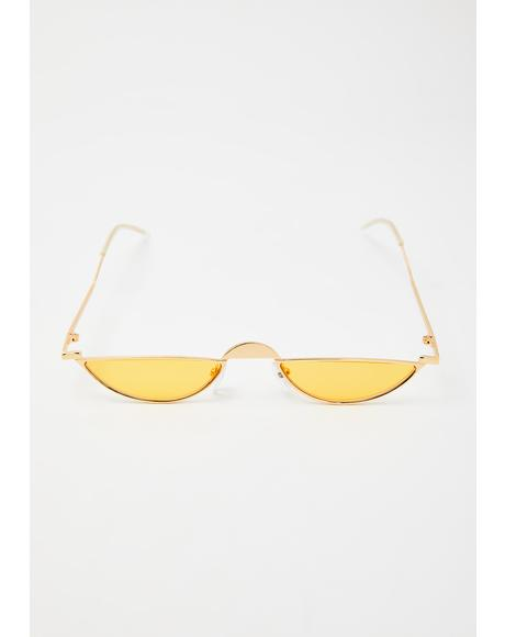 Golden World Class Sass Tiny Sunglasses