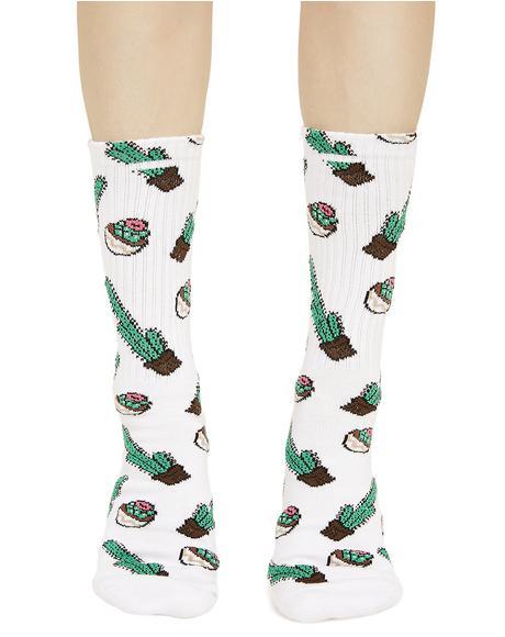 Saguro Crew Socks