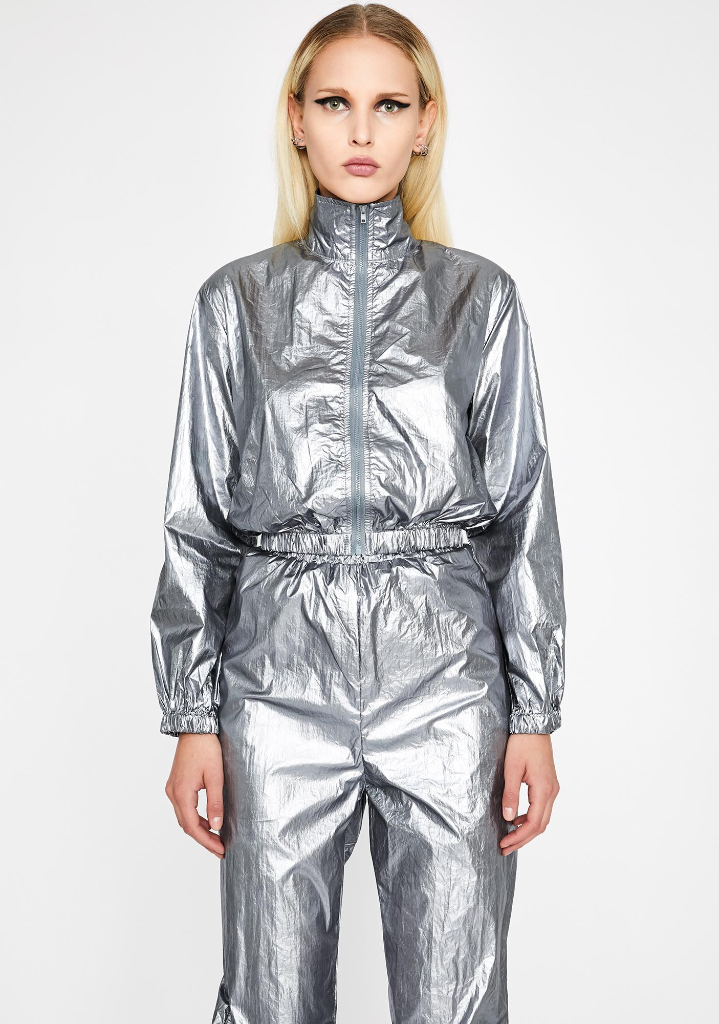 Chrome Cyber Sass Metallic Set