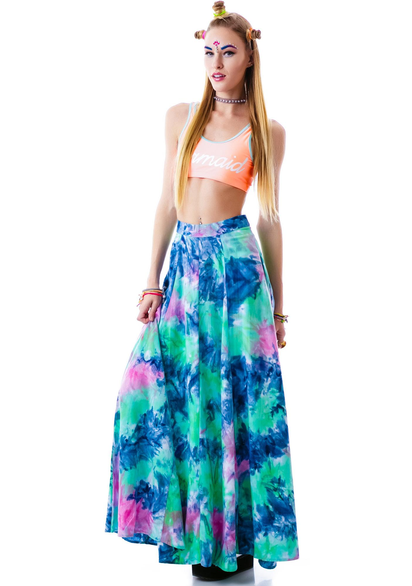 This Is A Love Song Faded Skirt