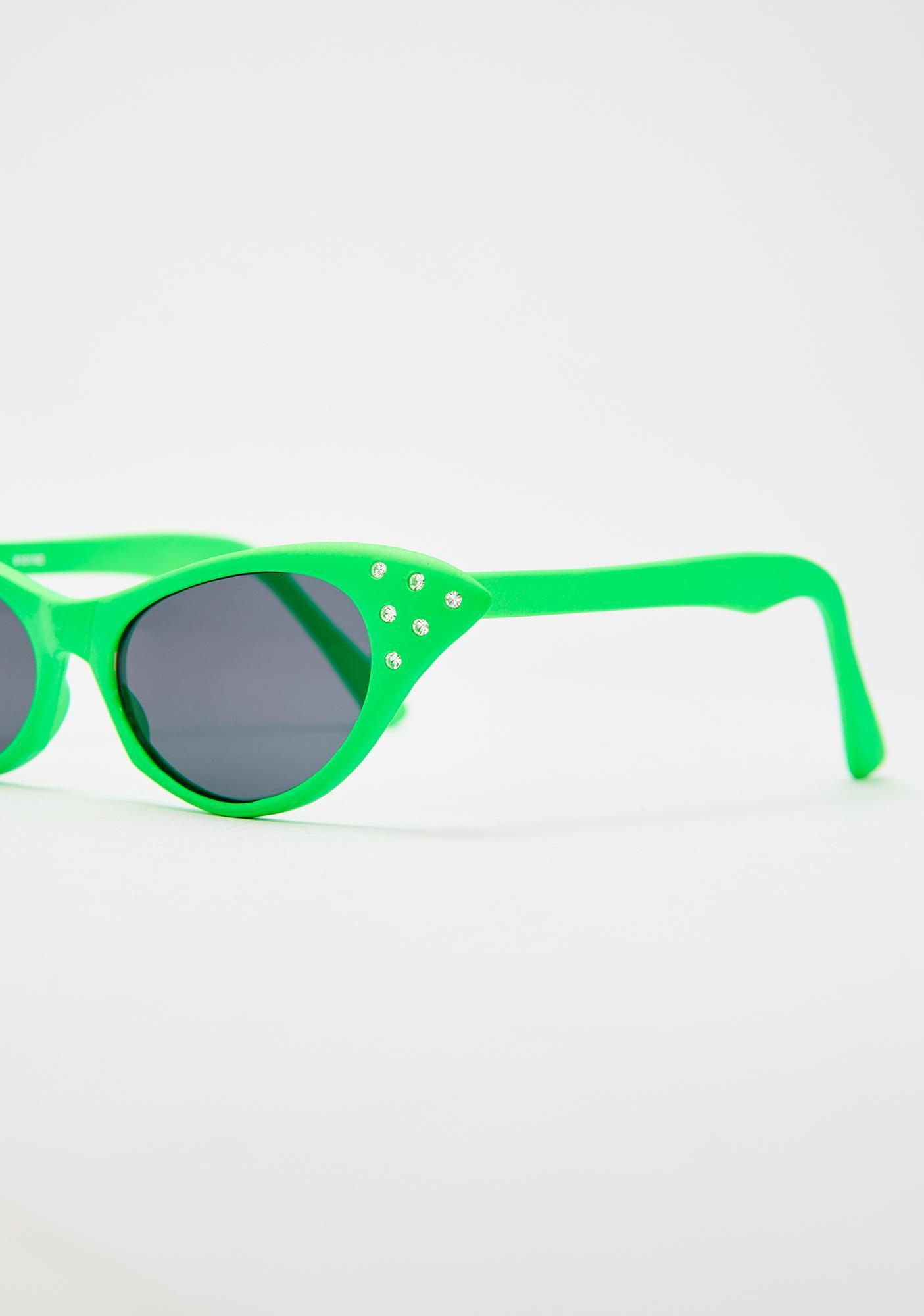 Giant Vintage Dank BLAM! Cat Eye Sunglasses