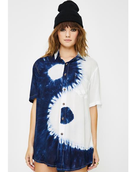 Yin Yang Tie Dye Shirt
