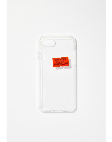 Best Before iPhone Case