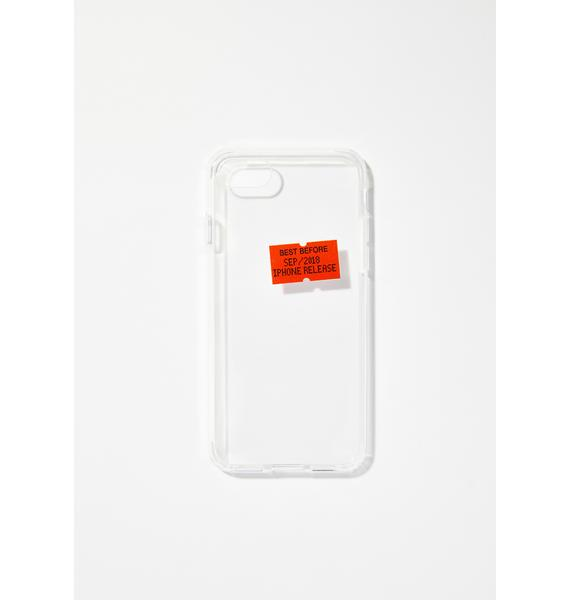 Urban Sophistication Best Before iPhone Case