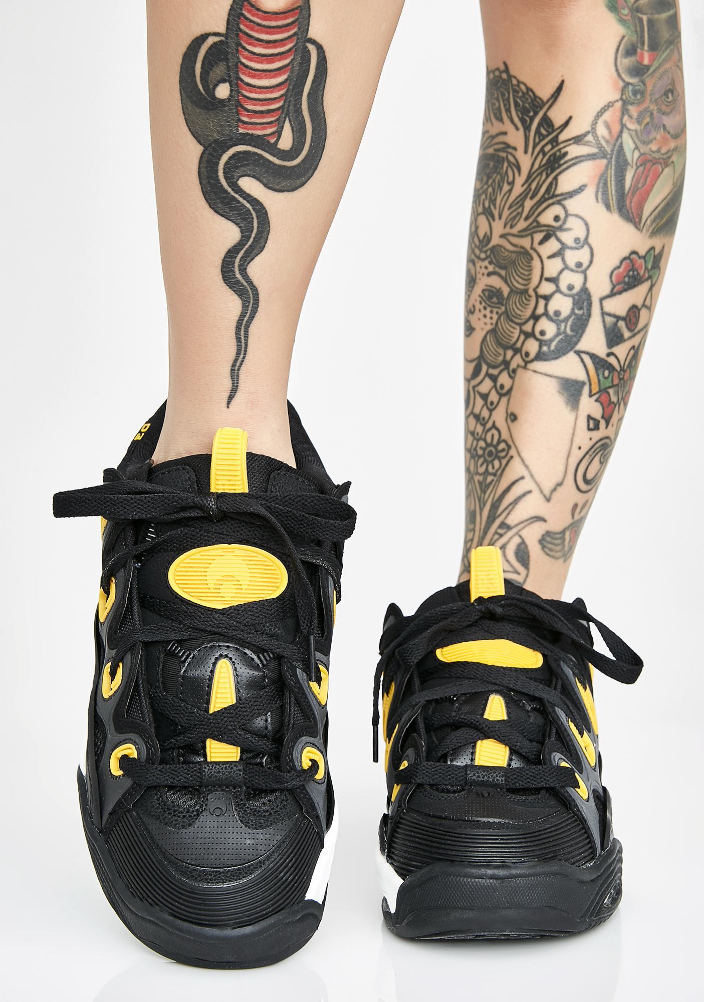 25e9af34a7a Osiris Ink D3 2001 Chunky Sneakers | Dolls Kill