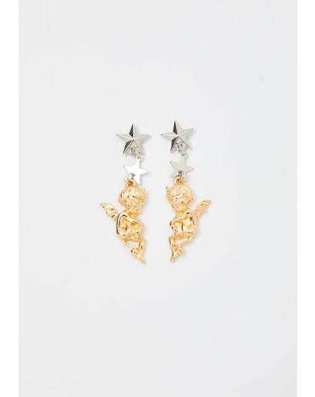 Sinful Saint Drop Earrings