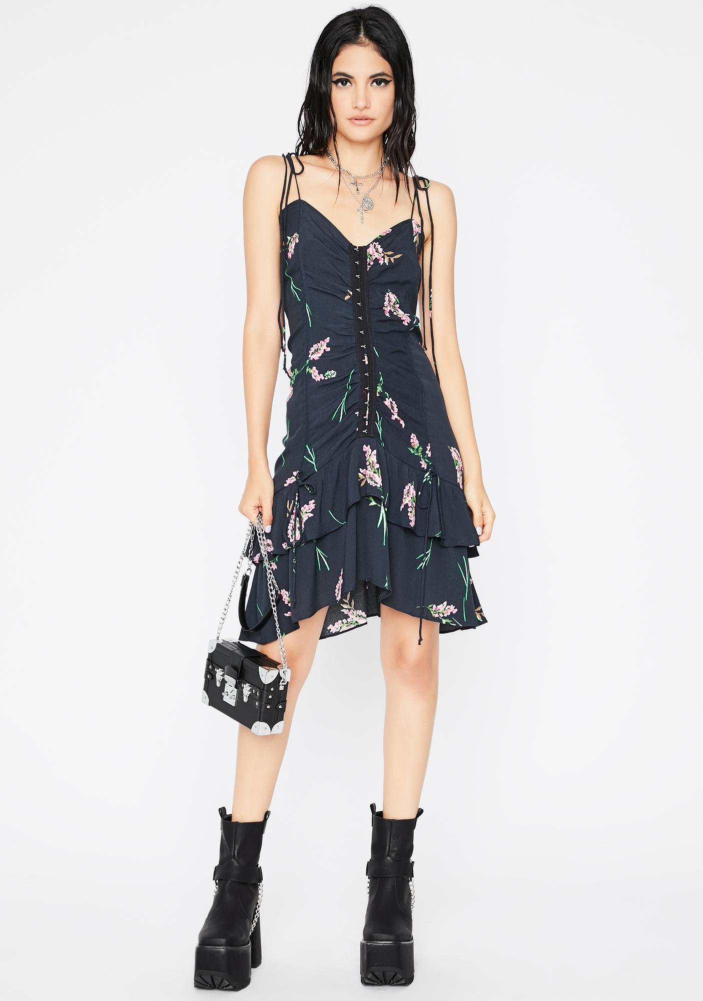 Call Me Bae Floral Dress