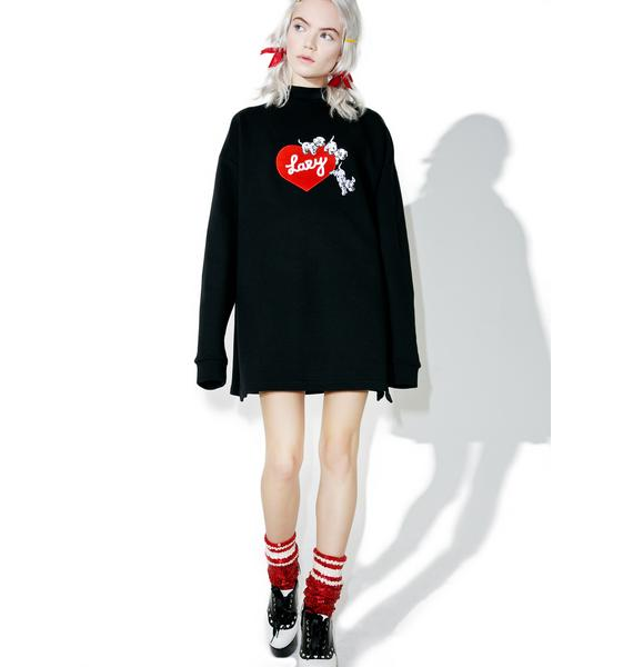 Lazy Oaf X Disney 101 Dalmatians Puppy Love Sweatshirt