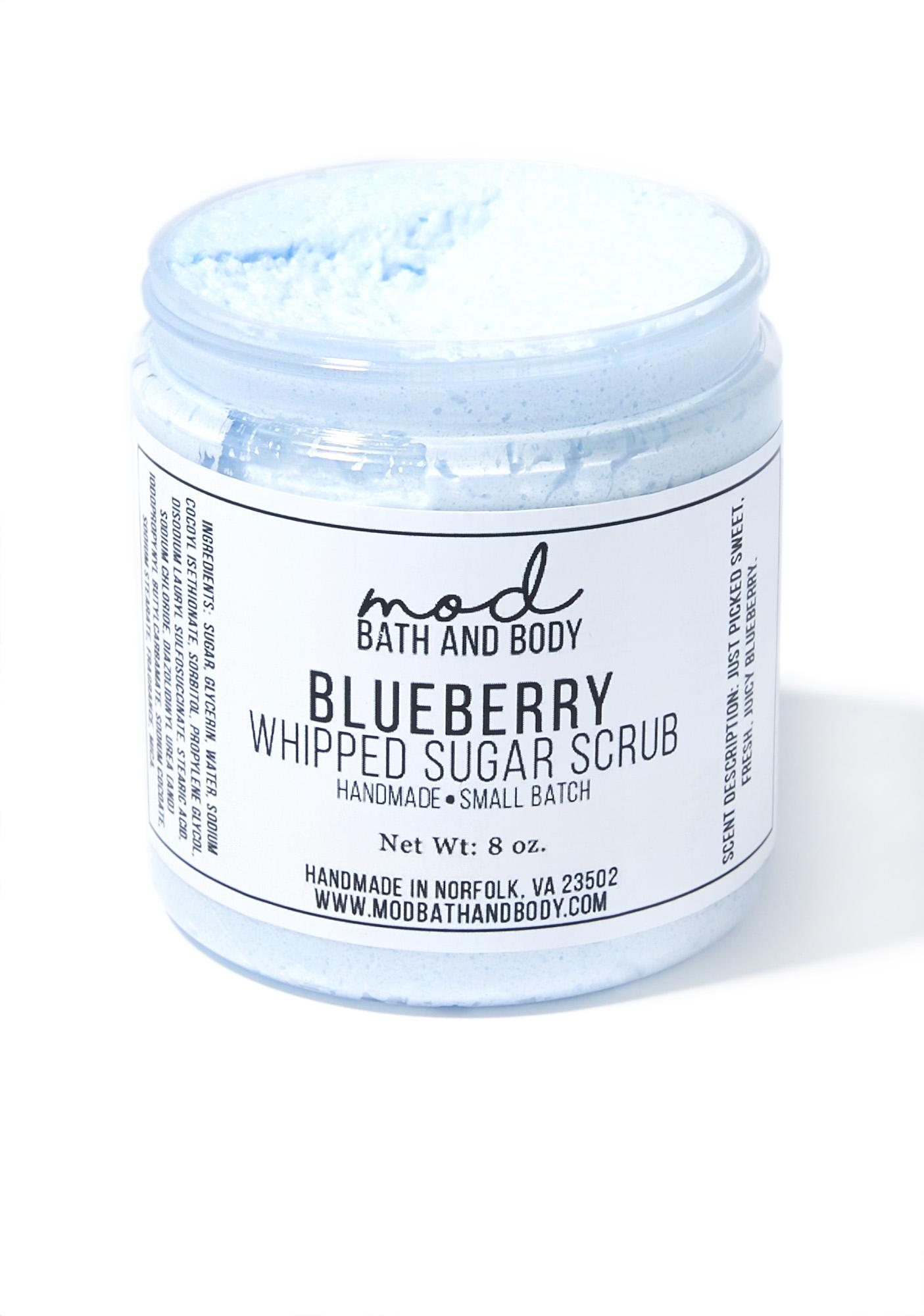 Mod Bath and Body Blueberry Whipped Sugar Scrub