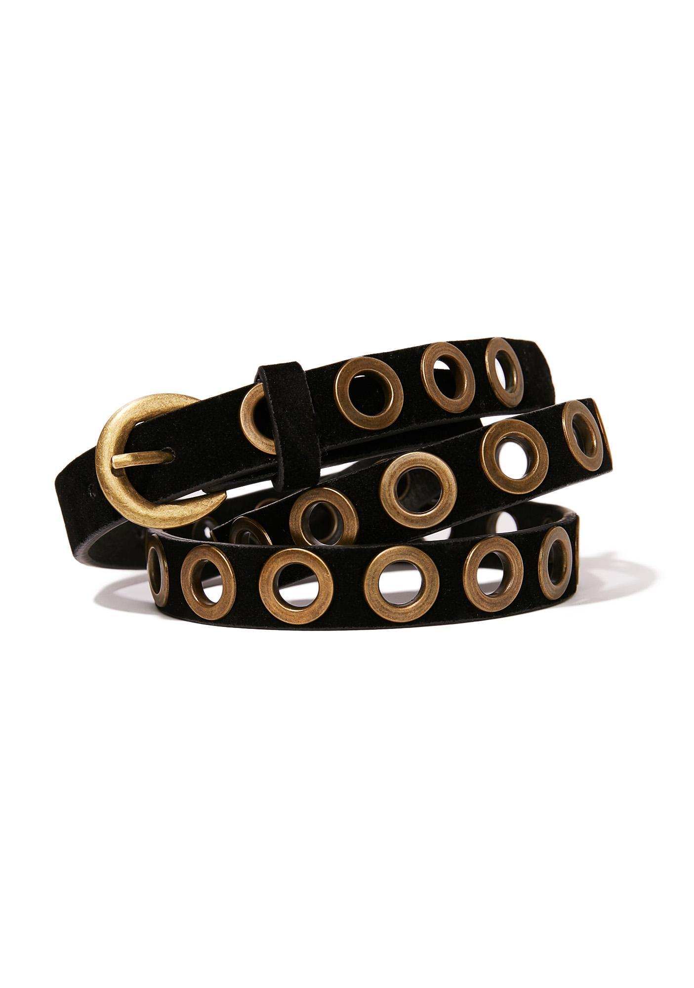 Brass 'N Sass Eyelet Belt