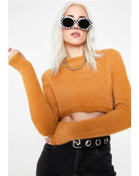 Caramel Superhuman Sweater
