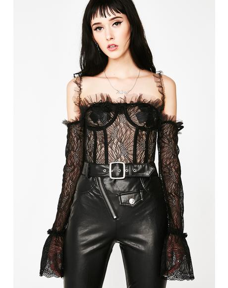 Hypnotic State Corset Blouse