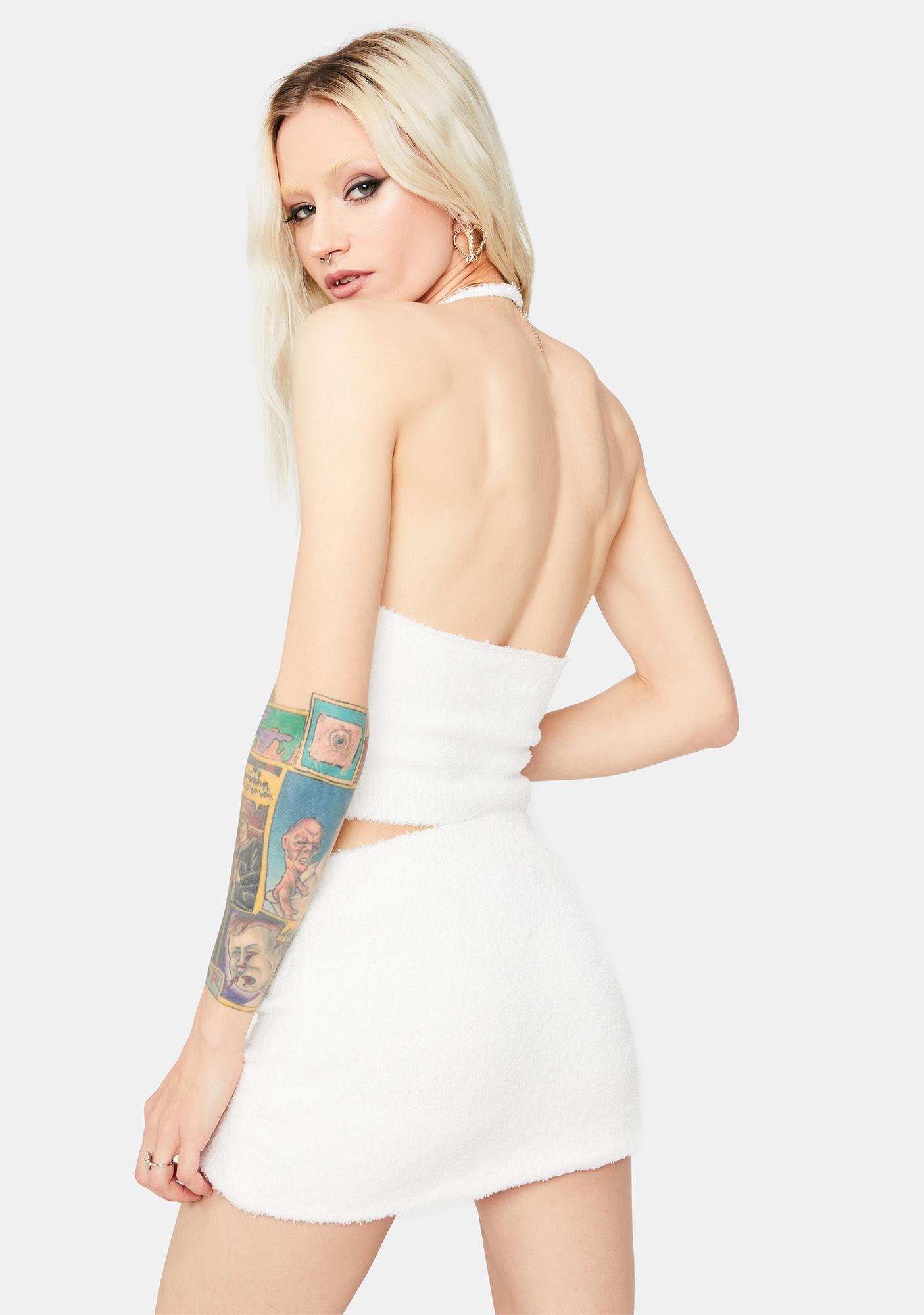 Icy Priceless Rage Halter Skirt Set