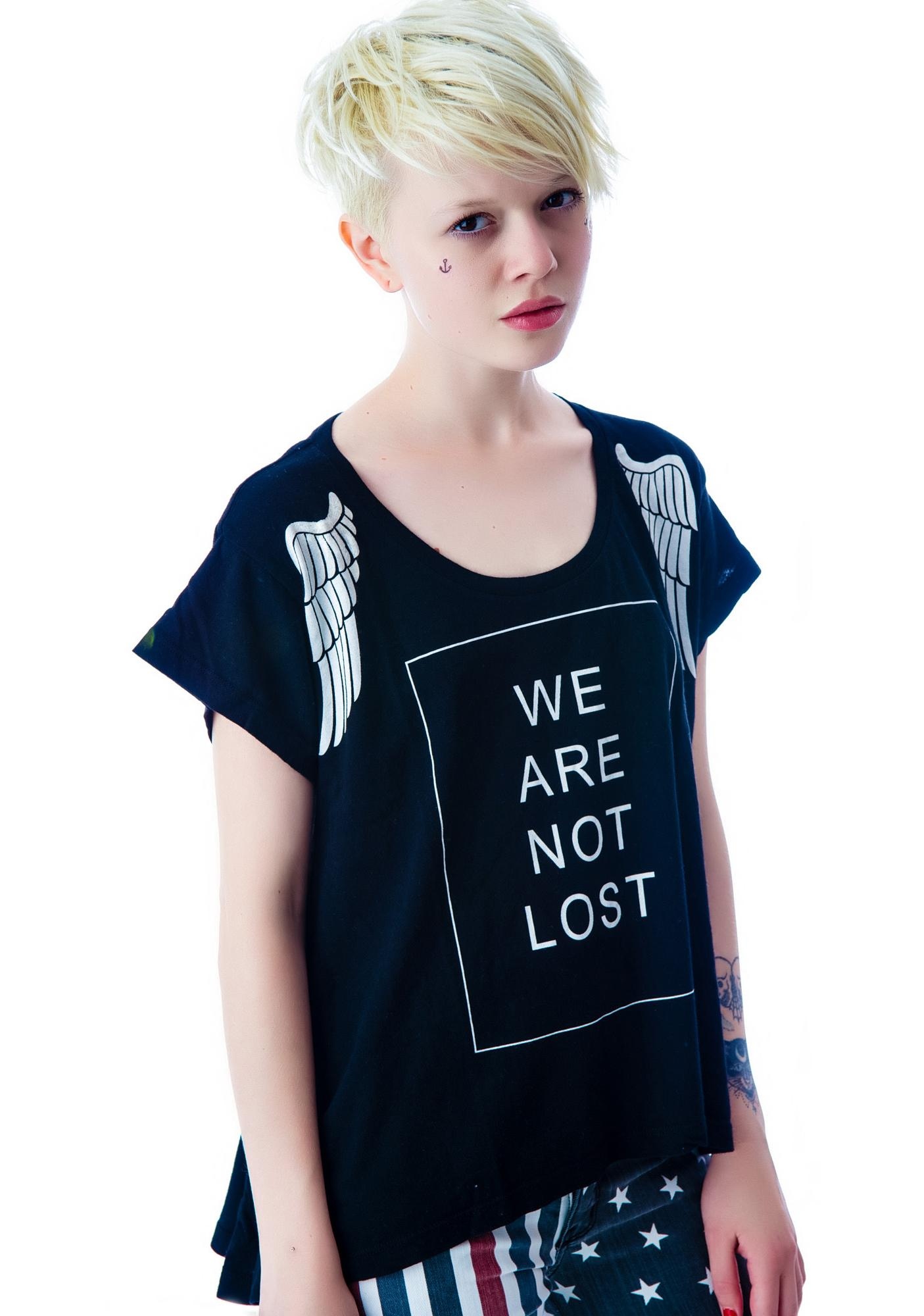 Wildfox Couture Lost Angel Lazy Weekend T