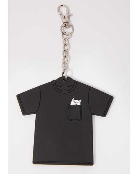 Lord Nermal Mini Tee Keychain
