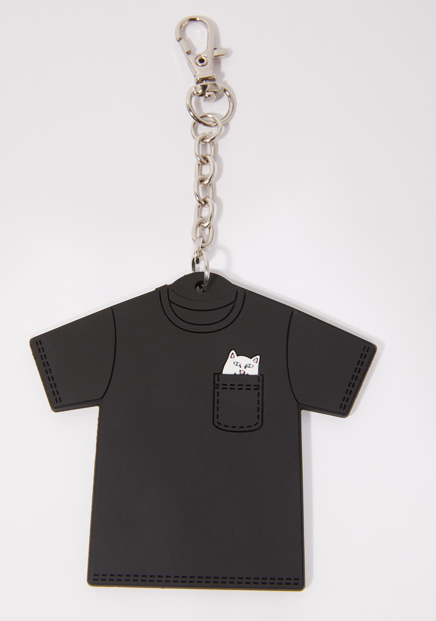 RIPNDIP Lord Nermal Mini Tee Keychain