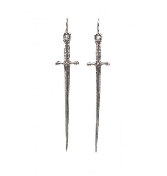 Vanessa Mooney Sonnet of the Sword Earrings