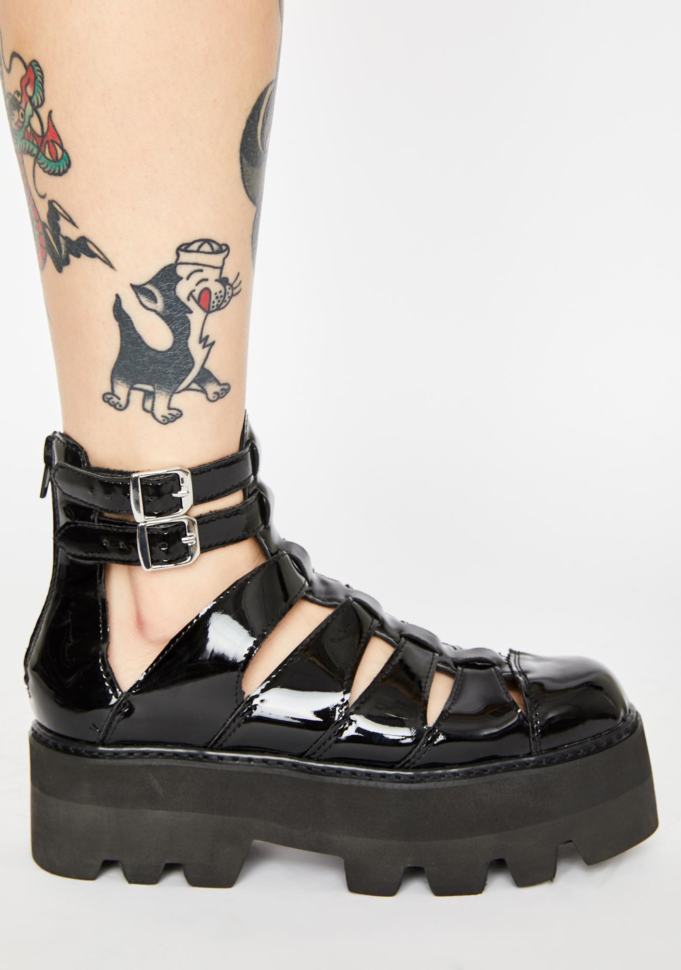 T.U.K. Patent Gladiator Dino Lug Sandals