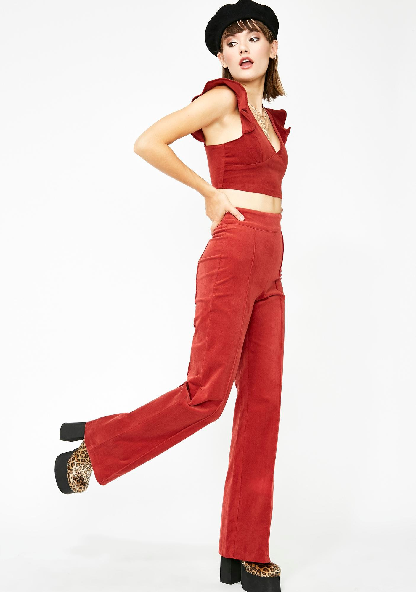 Fashion Capable High Waist Pants