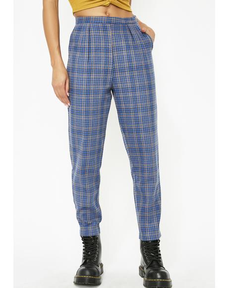 Always Trippin' Plaid Pants