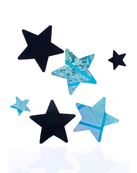 Electra Star Pasties