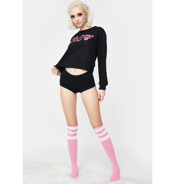 Miso Flirty Sweatshirt and Panty Set