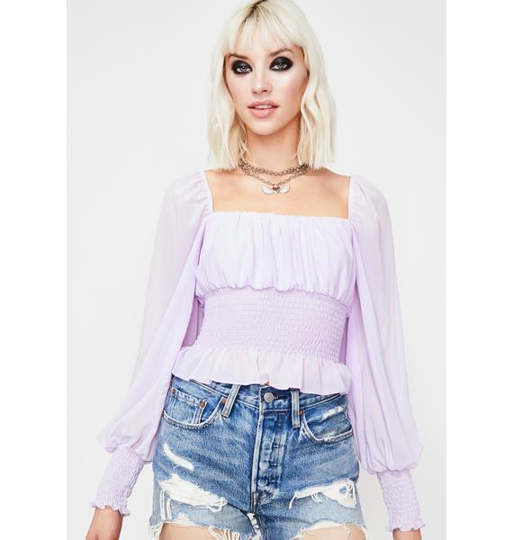Dream Sight Chiffon Blouse