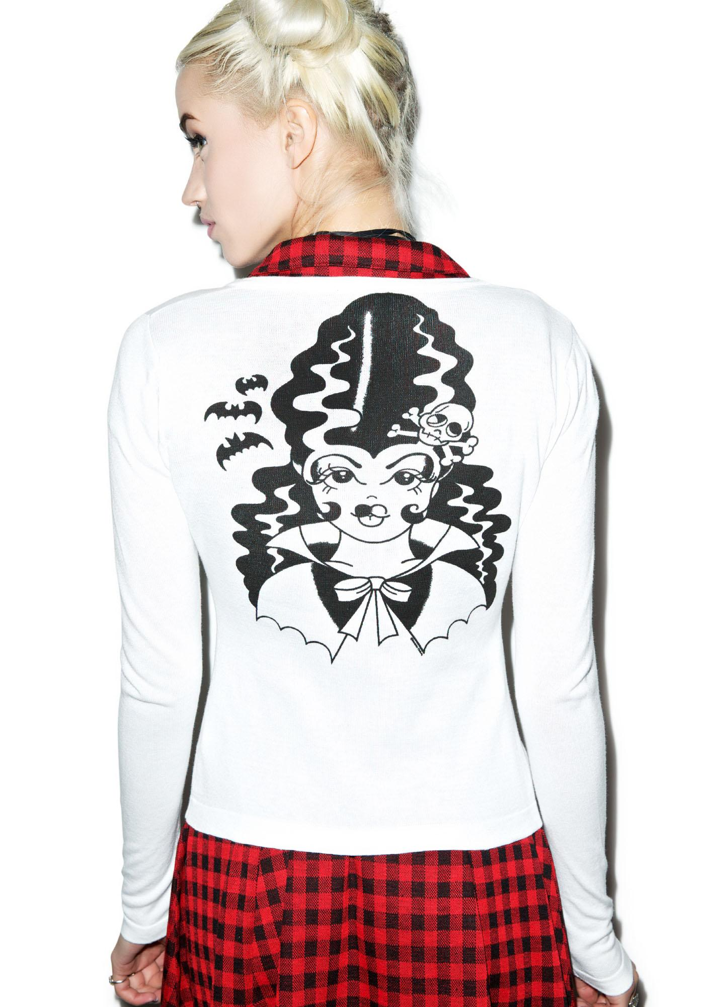 Sourpuss Clothing Frankengal Cardigan