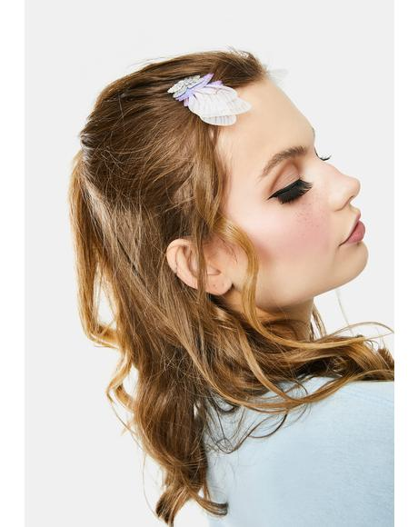 Real Charmer Butterfly Wing Hair Clips