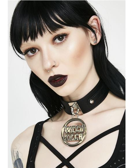 Witch Bitch Choker