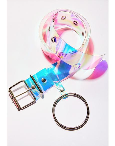 Prepare For Landing Iridescent Belt