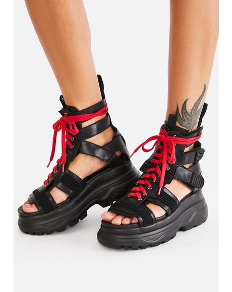 Vesta Gladiator Sandals
