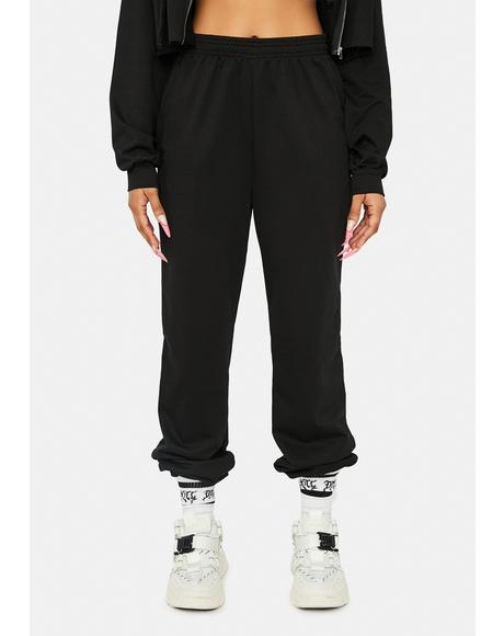 Nox Know Ur Worth Jogger Sweatpants
