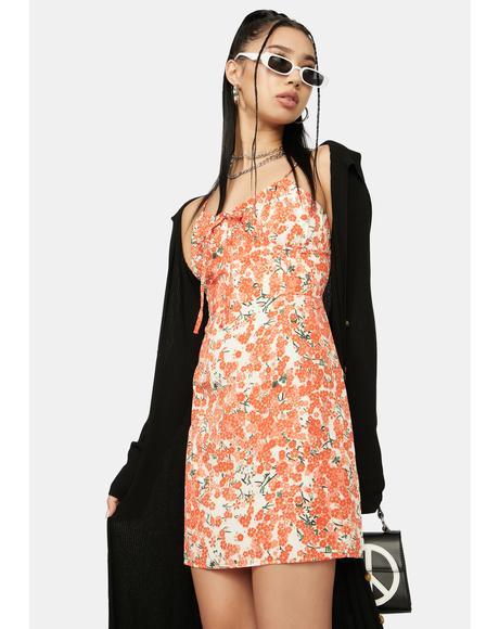 Perfect Paramour Floral Mini Dress