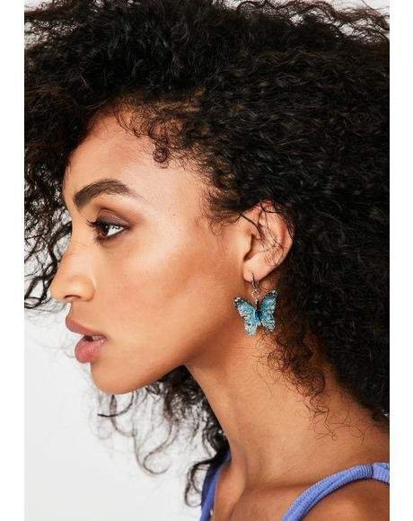 Flyin' High Butterfly Earrings