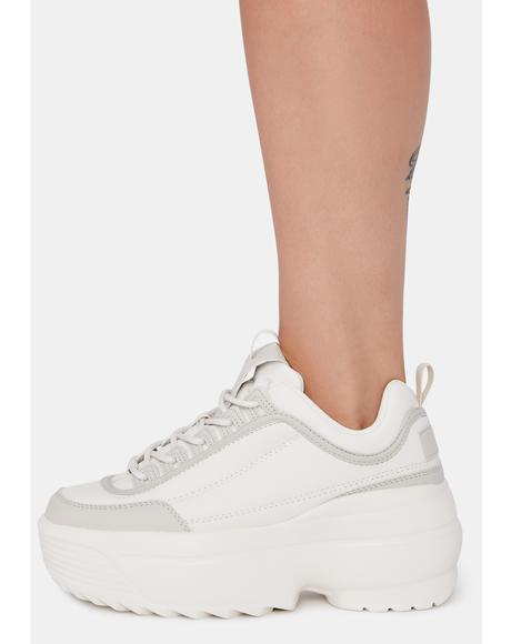 Desert Rec League Platform Sneakers