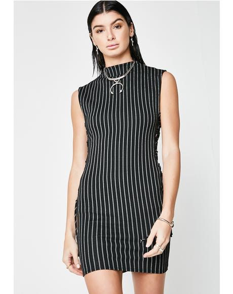 Play Harder Striped Dress